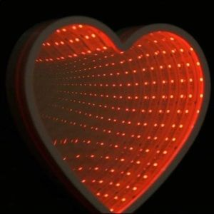 Heart Shaped LED Battery Operated.Tunnel Light